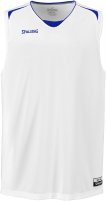 Spalding Attack Tank Top weiß-royalblau