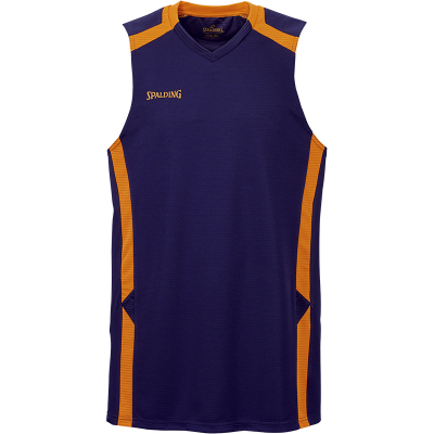 Spalding Offense Tank Top marine-fluo orange