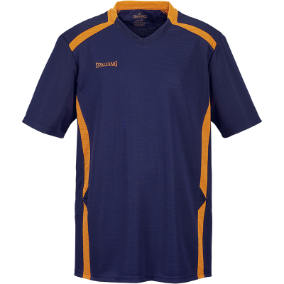 Spalding Offense Shooting Shirt marine-fluo orange
