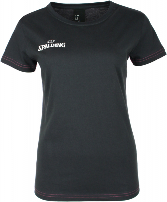 Spalding Team II 4her Damen T-Shirt anthrazit