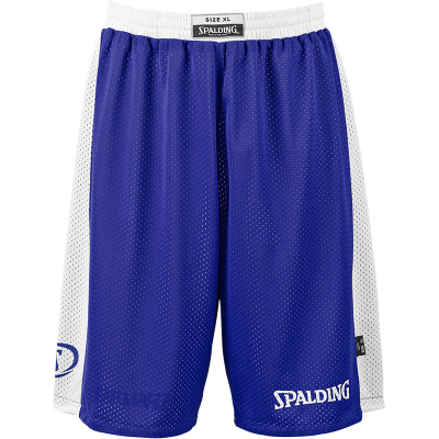 Spalding Essential Reversible Shorts royal-weiß