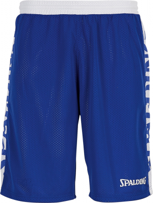 Spalding Essential Reversible Shorts royal-weiß-weiß