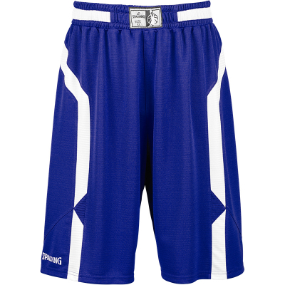 Spalding Offense Shorts royal-weiß