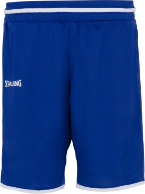 Spalding Move Damen Shorts royal-weiß