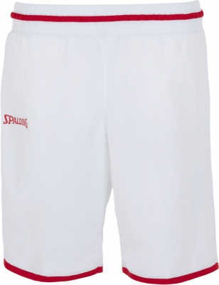 Spalding Move Damen Shorts weiß-rot