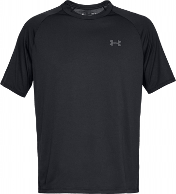 Under Armour Tech Herren T-Shirt schwarz-graphite L