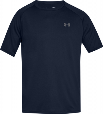 Under Armour Tech Herren T-Shirt charcoal academy-graphite