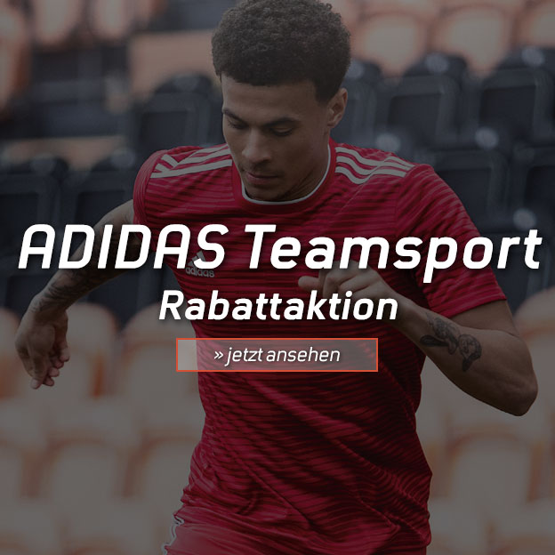 ADIDAS Teamsport Rabattaktion