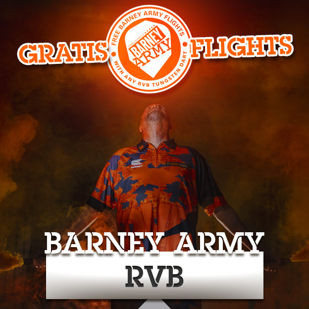 Raymond van Barneveld RVB Flight Aktion